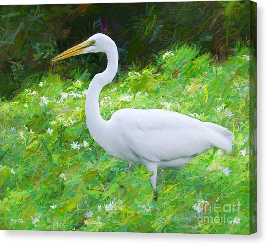 Grace In Nature Canvas Print