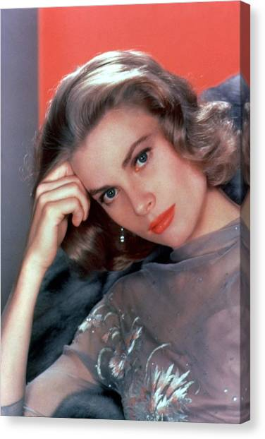Grace Kelly Canvas Print - Grace Kelly by American School