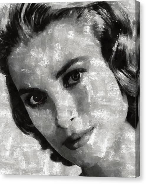 Grace Kelly Canvas Print - Grace Kelly by Mary Bassett