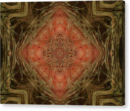 Grace Mandala Canvas Print