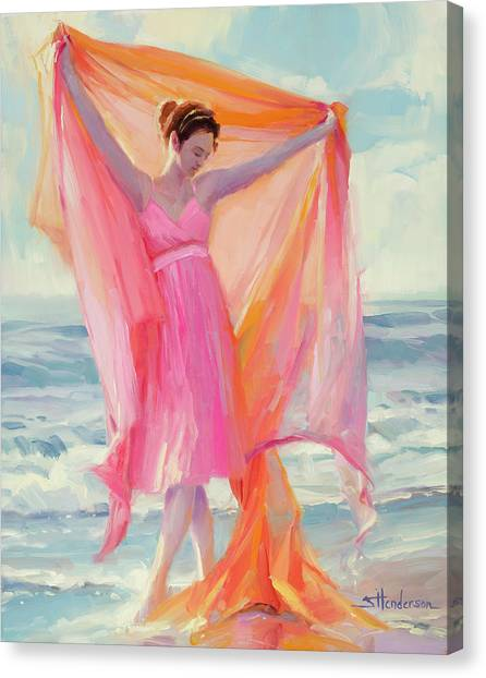 Innocent Canvas Print - Grace by Steve Henderson