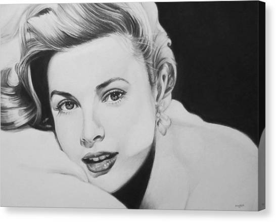 Grace Kelly Canvas Print - 'grace' by Steve Hunter