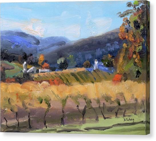 Grace Estate Winery Charlottesville Va Canvas Print