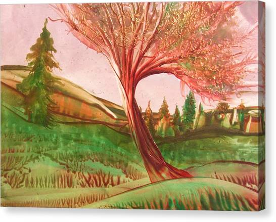 Graceful Canvas Print by John Vandebrooke
