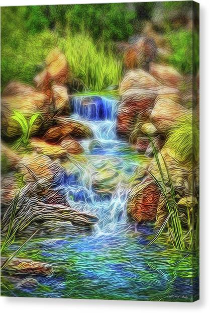 Graceful Waters Canvas Print