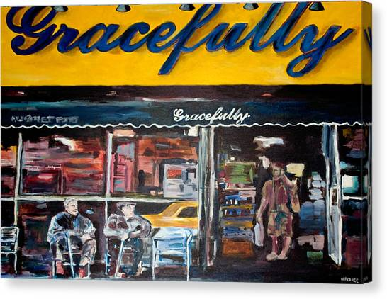 Gracefully Canvas Print by Wayne Pearce