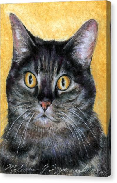 Gracie Canvas Print by Melissa J Szymanski