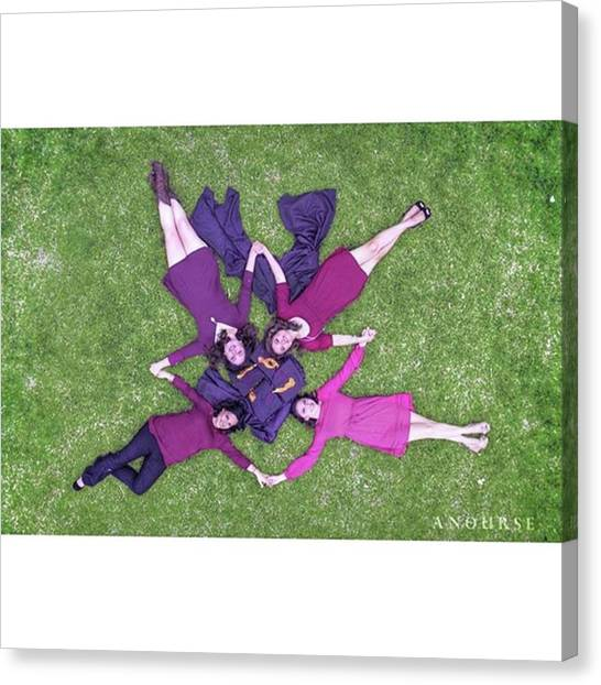 Schools Canvas Print - Grads & Future Teachers Of by Andrew Nourse
