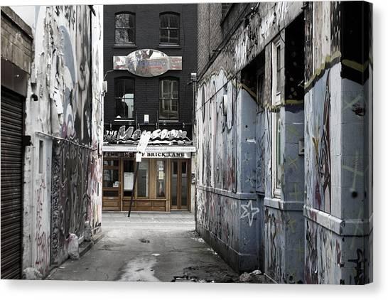 Graff Street Canvas Print