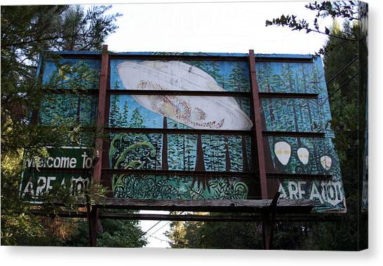 Graffiti 5 Canvas Print by Holly Ethan