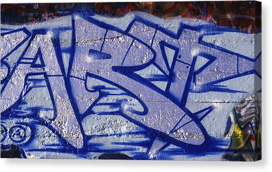 Graffiti Art-art Canvas Print