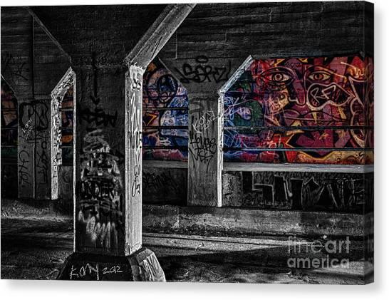 Graffiti Galore 2 Canvas Print
