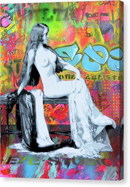 Stencil graffiti canvas prints page 36 of 37 fine art america stencil graffiti canvas print graffiti pin up 2 by josh cardinali thecheapjerseys Gallery
