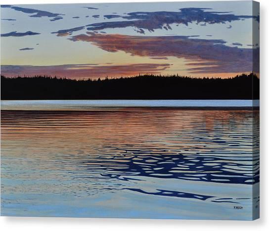 Graham Lake Canvas Print