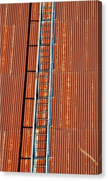 Grain Stairway Canvas Print