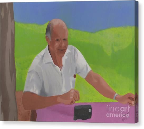 Grampa Wiegand Canvas Print