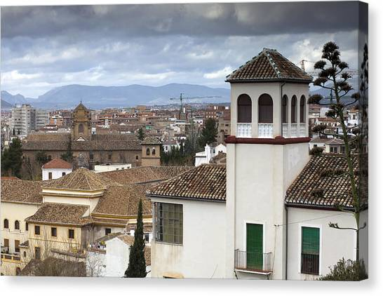 Granada Canvas Print by Andre Goncalves