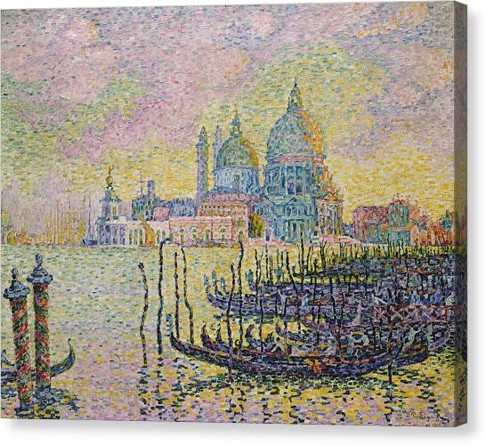 Divisionism Canvas Print - Grand Canal by Paul Signac