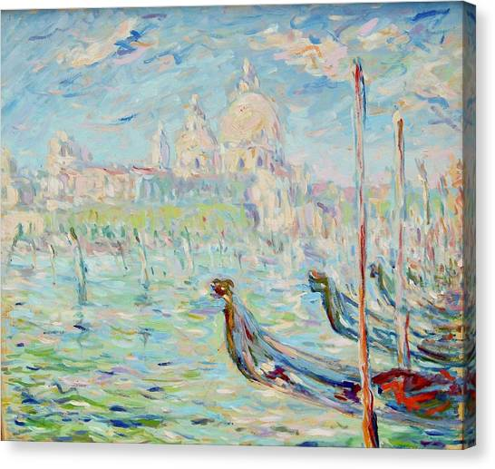 Grand Canal Venice Canvas Print