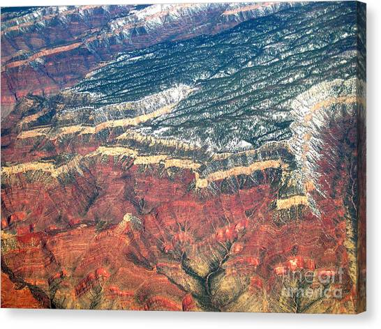 Grand Canyon 3 Canvas Print by Addie Hocynec