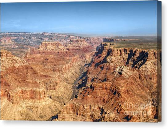Grand Canyon Aerial View Canvas Print