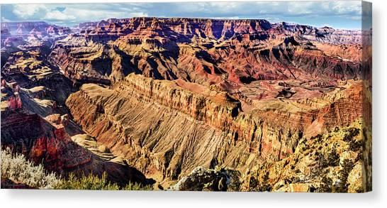 Grand Canyon Afternoon At Lipan Point Canvas Print