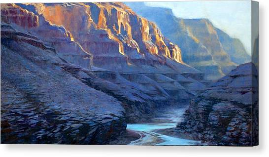 Grand Canyon Dawns Canvas Print