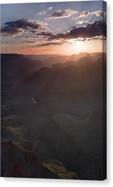 Grand Canyon Glow Canvas Print