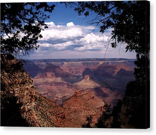 Grand Canyon II Canvas Print by Linda Morland