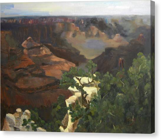 Grand Canyon Canvas Print by Marcy Silverstein