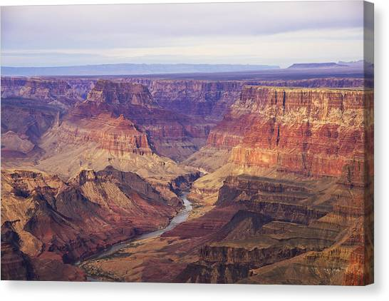 Mcherdering Canvas Print - Grand Canyon by Mike Herdering