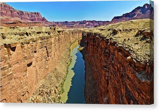 Grand Canyon National Park Colorado River Canvas Print