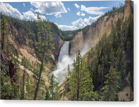 Grand Canyon Of Yellowstone Canvas Print