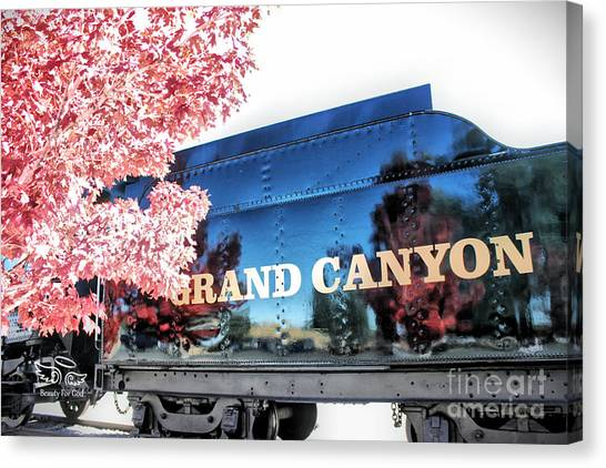 Grand Canyon Railroad Canvas Print