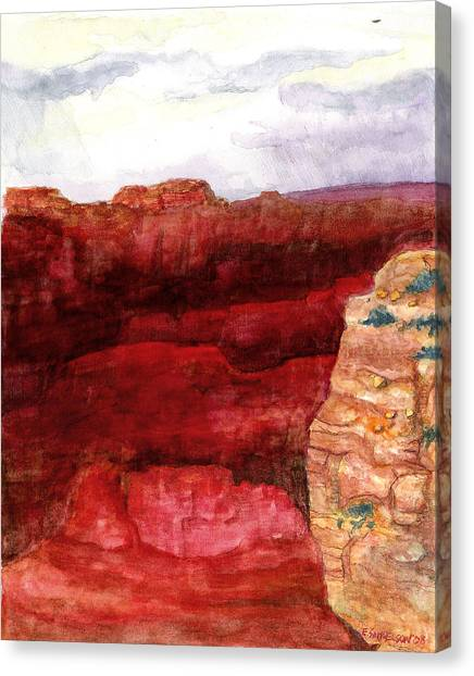 Grand Canyon S Rim Canvas Print