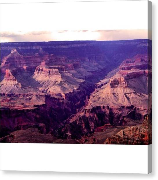 Star Trek Canvas Print - Grand Canyon Shot From Today, We Got by Scotty Brown