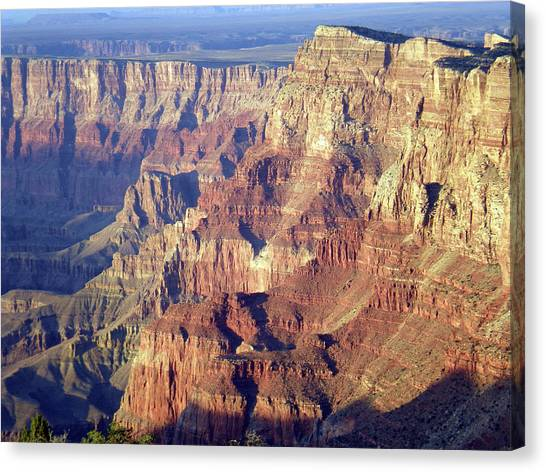 Canvas Print featuring the photograph Grand Canyon South Rim by Norman Hall