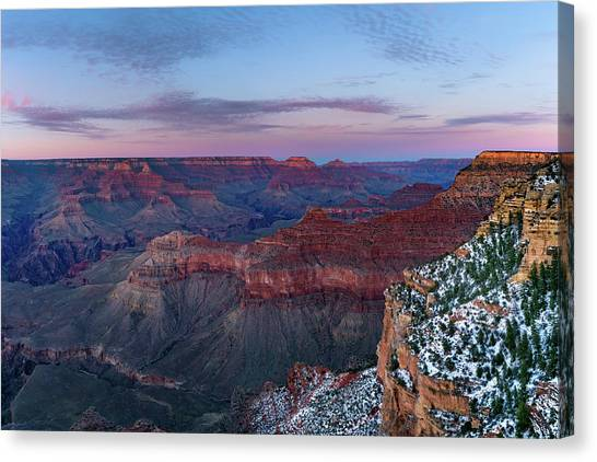 Grand Canyon - South Rim Twilight Canvas Print