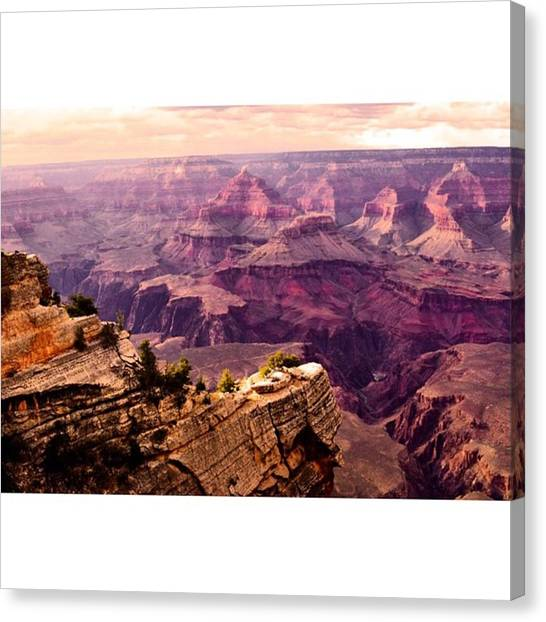 Scotty Canvas Print - Grand Canyon South Rim. Unreal! #travel by Scotty Brown