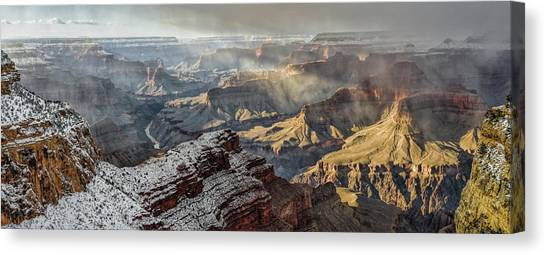 Mcherdering Canvas Print - Grand Canyon Storm by Mike Herdering