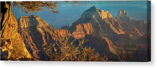 Grand Canyon Sunset Panorama Canvas Print