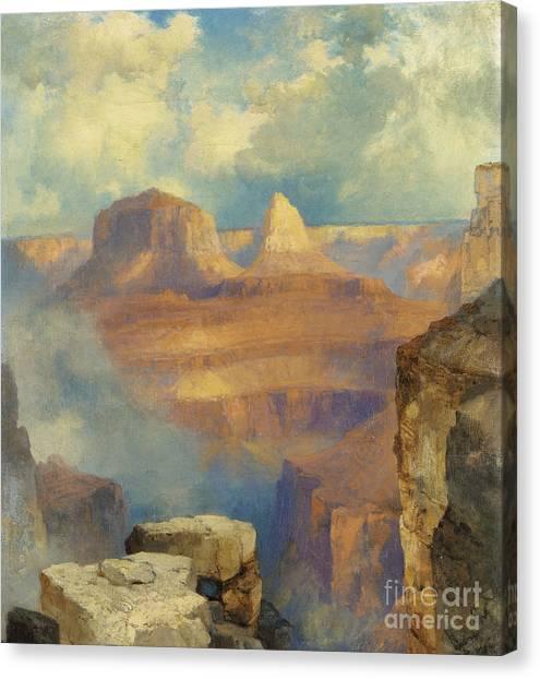 Moran Canvas Print - Grand Canyon by Thomas Moran