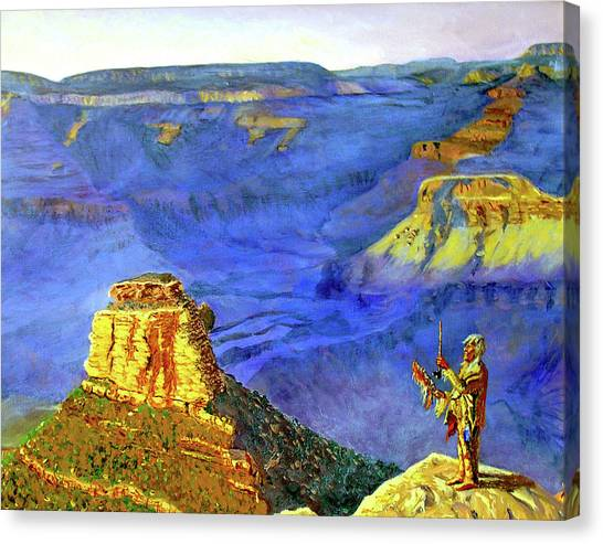 Grand Canyon V Canvas Print by Stan Hamilton