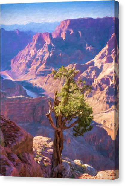 Canvas Print - Grand Canyon West by Impressionist Art
