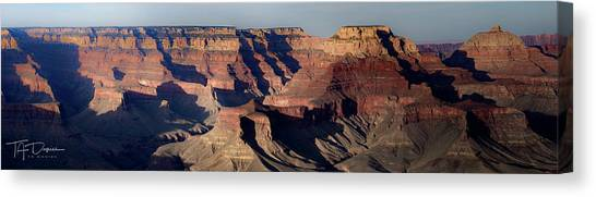 Grand Canyon Wide Canvas Print
