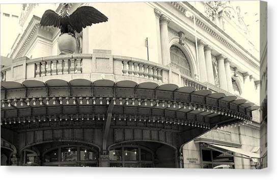 Grand Central Detail Canvas Print by Dan Stone
