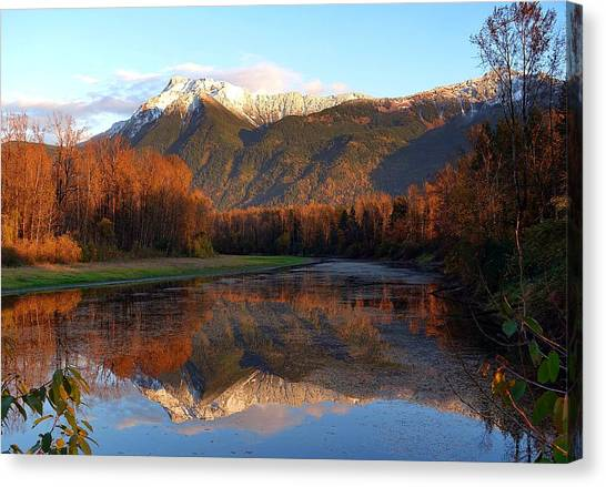 Mount Cheam, British Columbia Canvas Print
