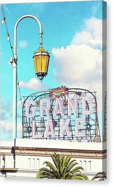 Grand Lake Merritt - Oakland, California Canvas Print