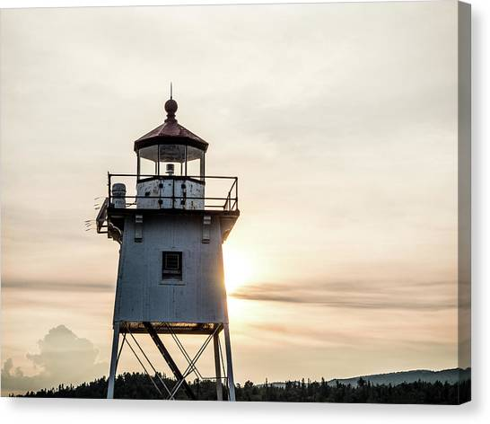 Grand Marais Lighthouse Canvas Print