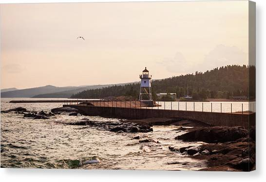 Grand Marais Shore Canvas Print